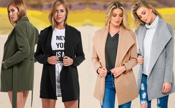 Women long outwear coats