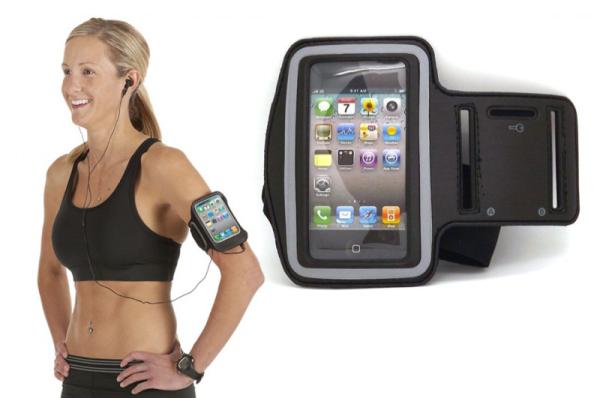 Sport armbånd til din smartphone - iPhones og Galaxy - i forskellige farver