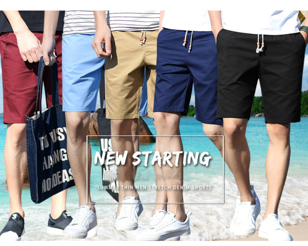Men's cotton casual short pant