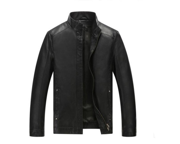 Casual leather coats