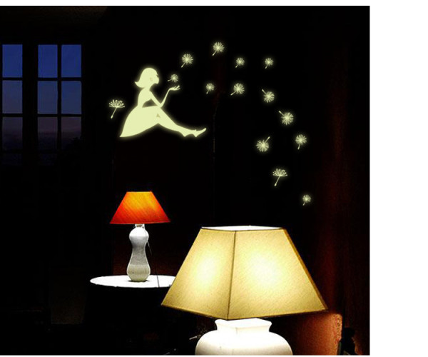 Fluorescent PVC Wall Stickers