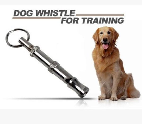 Pet Dog Training UltraSonic Keychain Whistle