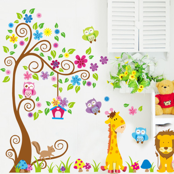 Remove the wall stickers