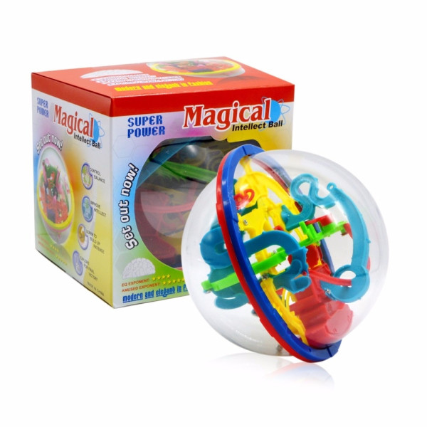 100 Steps Puzzle ball
