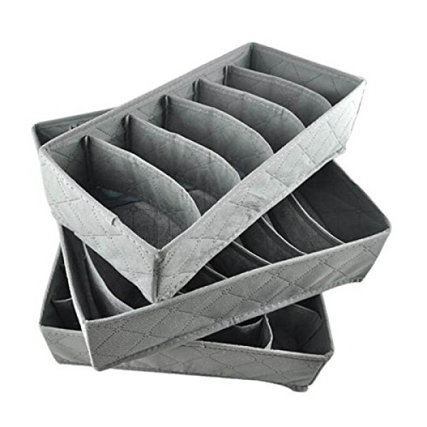 3 in one Bamboo charcoal fiber storage boxes