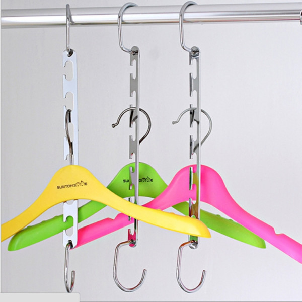 Wardrobe Closet Bar Clothes Coat Hanger
