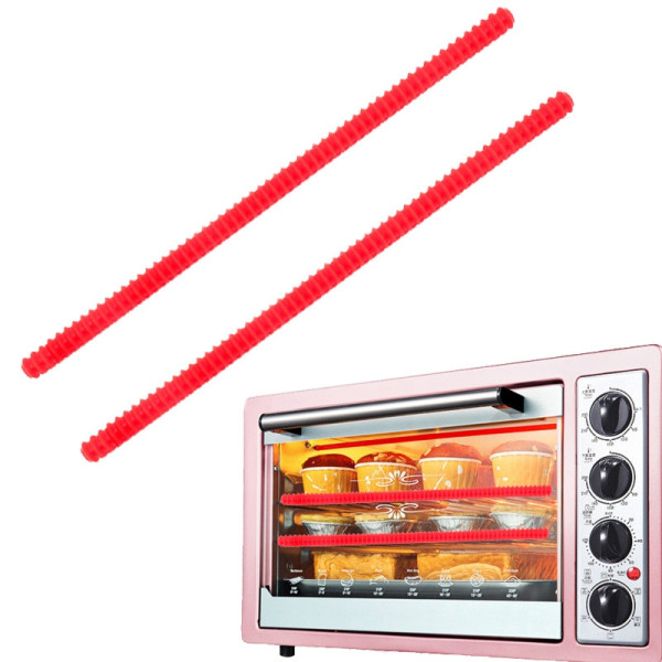 Silicone Oven Rack Guard Shelf Edge Burn Protector