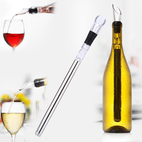 Wine Cooler Stainless Chiller with Pourer