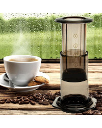 Portable French Hand Press 350ML Coffee Maker