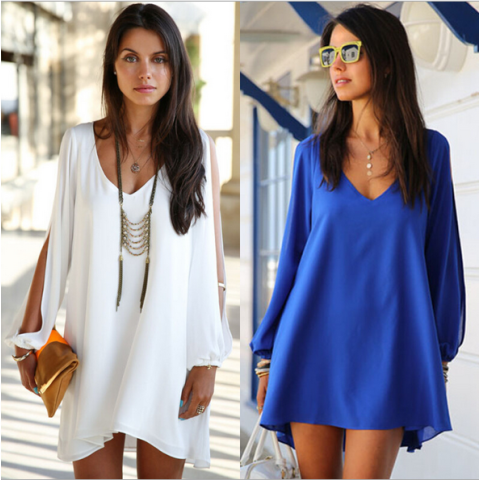 Summer Dress V-neck