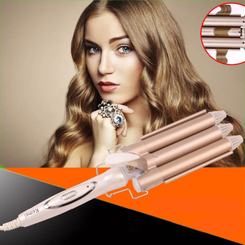 Professional Ceramic Curling Triple Barrel Hair Curler