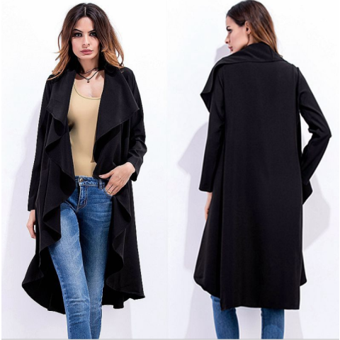 Classical Trench Cardigan Coat