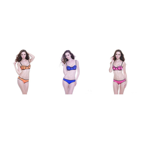 Womens Padded Push-up Bikini Set Bathing Suits