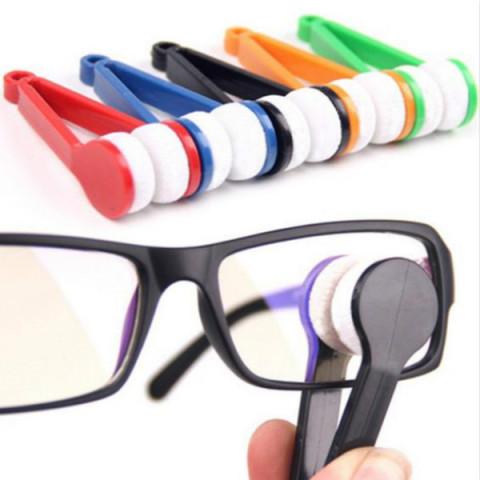 Eyeglass Microfiber Clean Brush