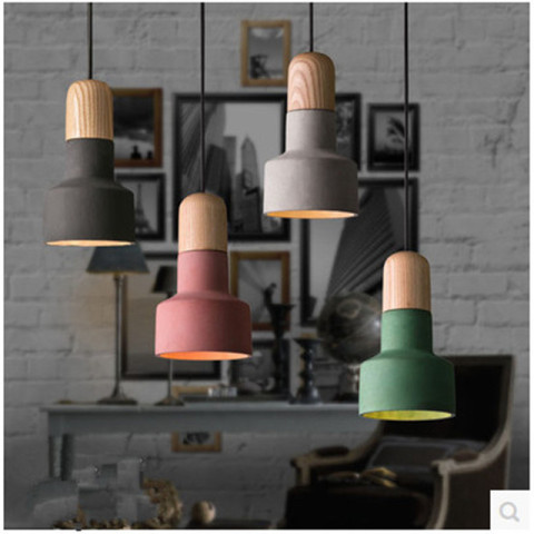 Cement Pendant Lamp