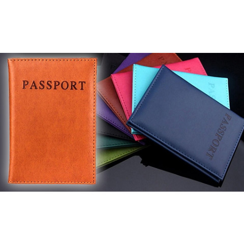 Protect your fit against moisture, scratches and damage with a passport book! Choose between 3 colors