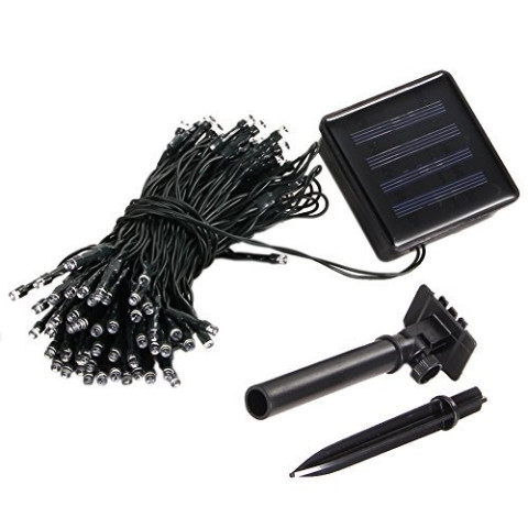12M 100Led Christmas Solar Led String Fairy Light