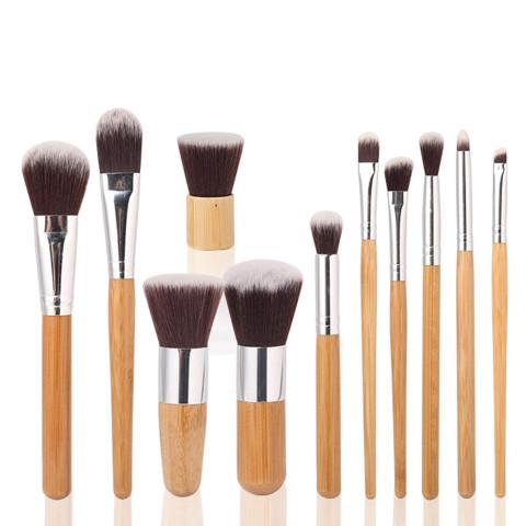 Bamboo 11pcs Makeup brush set