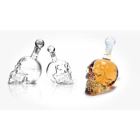 Crystal Glass Skull Bottle 350ML 550ML 1000ML