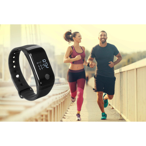 18-in-1 lifestyle tracker - Built-in heart rate monitor, blood tracker, etc.