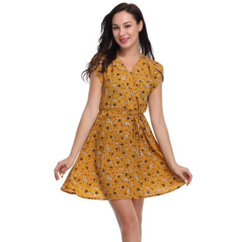 Summer Lady Floral Dress