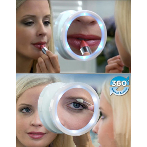 LED Magnifying Glass Makkeup Mirror