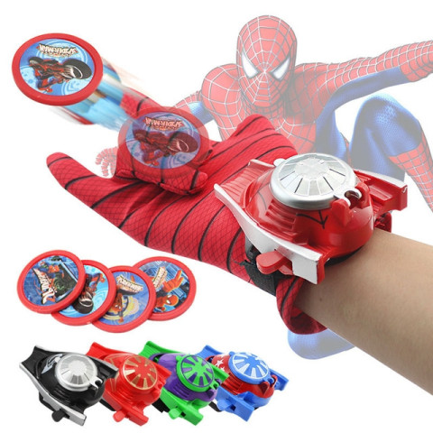 Marvel Avengers Super Heroes Glove Cool Launcher For Kid
