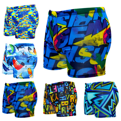 Multi Print Swimming Trunks