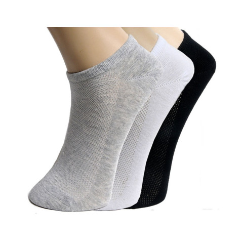 Mens Womens Soft Ankle Cut Sport Socks Cotton Socks Lot White Grey Black Unisex