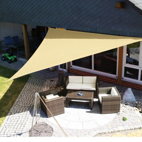 3*3M Sun Shade Sail UV Protection