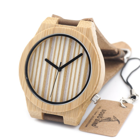 BOBO Bird wooden watch A21