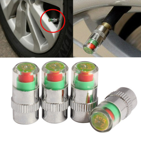 Air alert tire valve cap