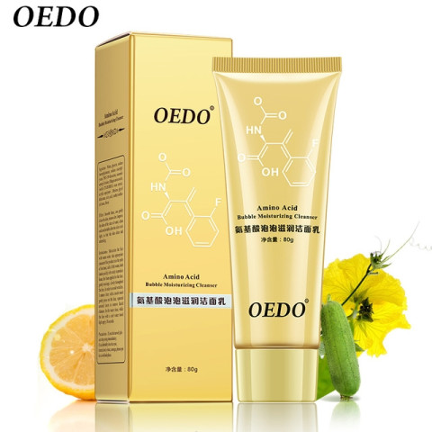 OEDO Amino Acid Bubble Moisturizing Facial Pore Cleanser Face Washing 80g