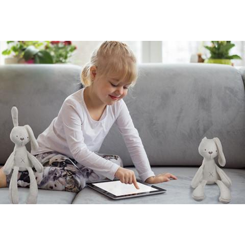 Baby Rabbit Sleeping Comfort Doll Plush Toy