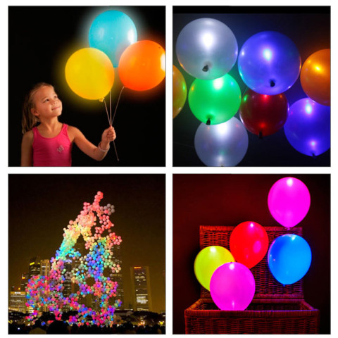 Led Flash Balloons