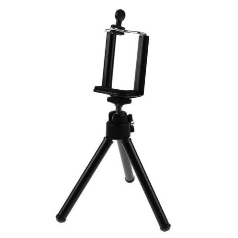 Tripod + stand holder for phone
