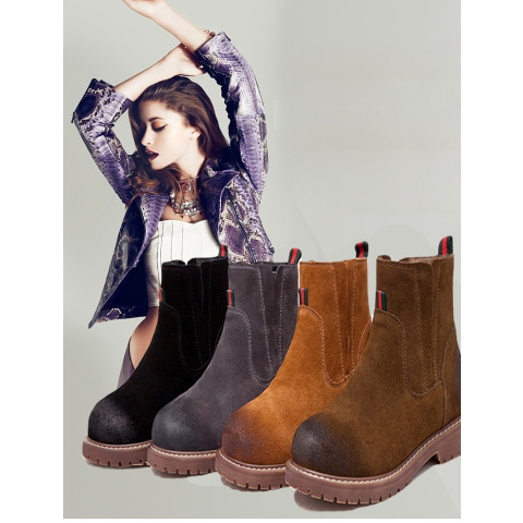 Women's Genuine Leather Snow boots