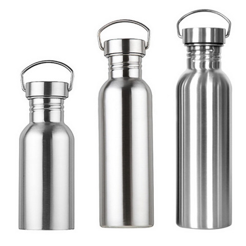 Stainless Steel Water Bottle 350ml/500ml/750ml for Cyclists, Runners, Hikers, Beach Goers, Picnics,Camping