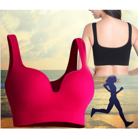 Shakeproof gym running yoga bra