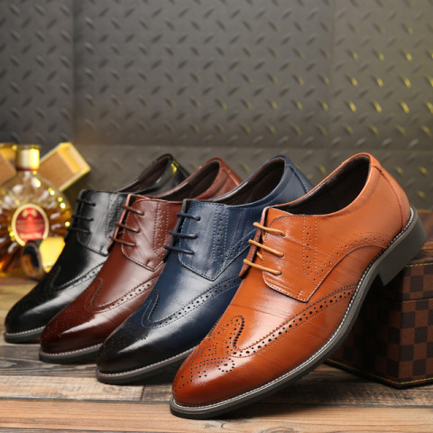 Men's Bullock leather shoes