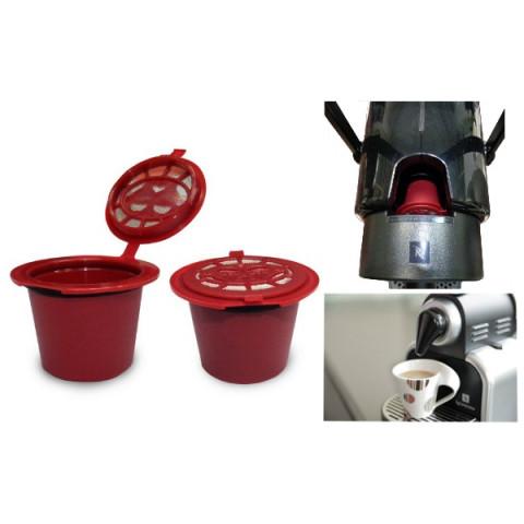 Refillable Capsule for Nespresso Coffee Machine