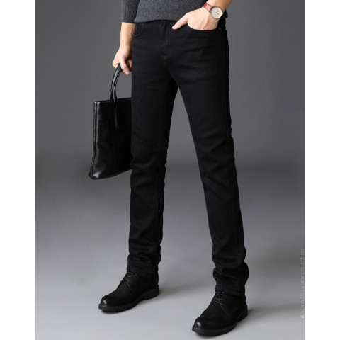 Men's Slim Fit Jeans Denim High Stretch pants
