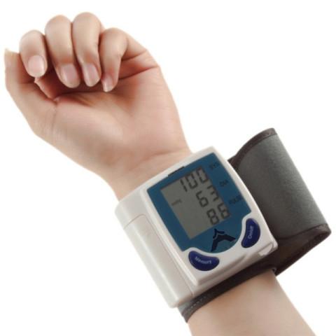 Automatic Digital LCD Wrist Blood Pressure Monitor