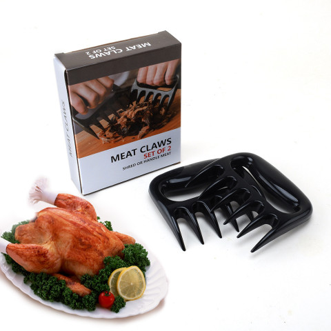 2pcs Bear Paws Claws Meat Handler Fork Tong