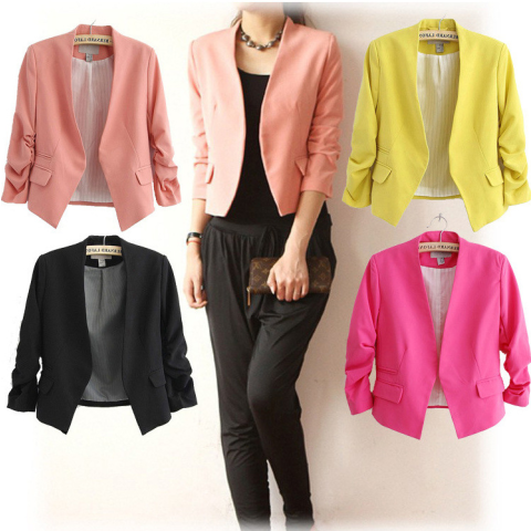 Women Short Design Suit Jackets