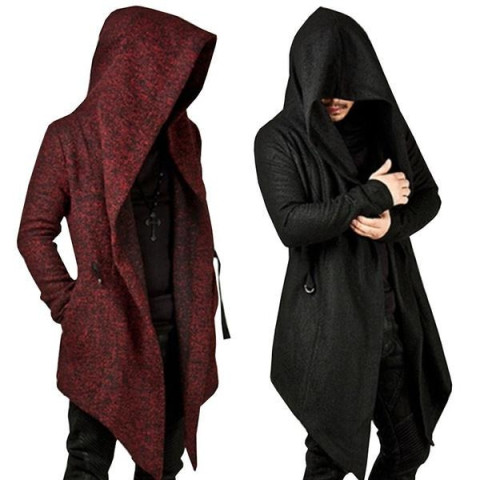 Asymmetrical Men's Coat Jacket