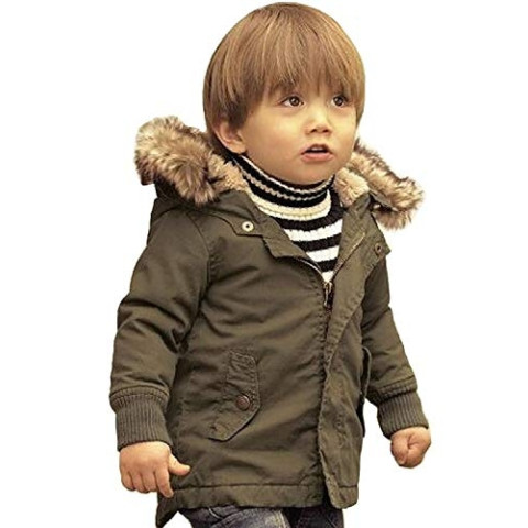 Kid's Hooded Parka