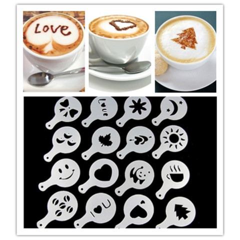 Plastic Fancy Coffee Printing Model