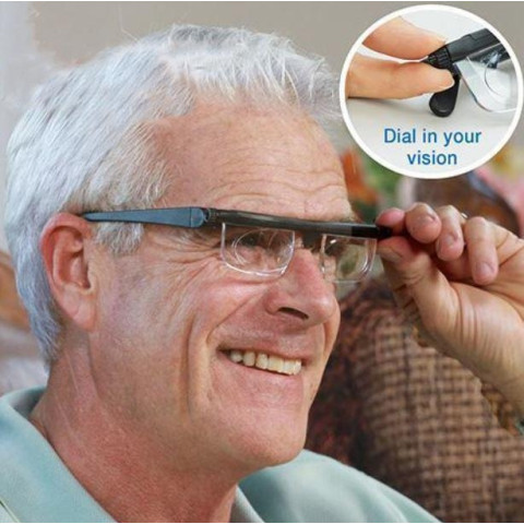 Dial vision Adjustable Len Reading Glasses