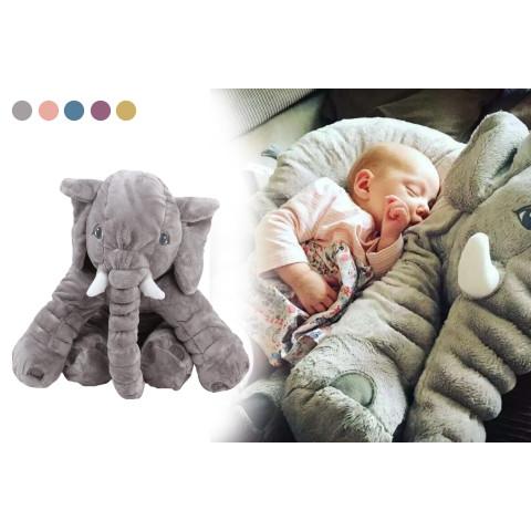 Cartoon Plush Elephant Doll Pillow